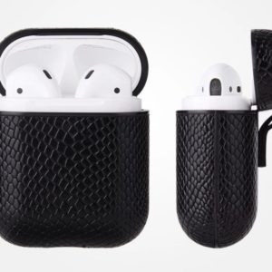 Snake Leather Style Ultra Luxury Apple AirPods Case